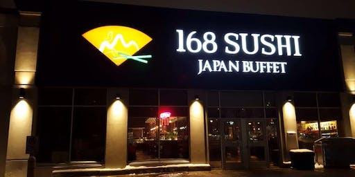Bear Sushi at 168 Sushi Japan Buffet
