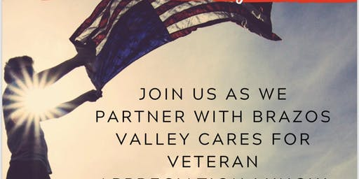 Brazos Valley Cares Veterans Appreciation!