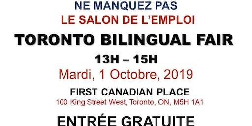 TORONTO EXPRESS BILINGUAL JOB FAIR – October 1st, 2019