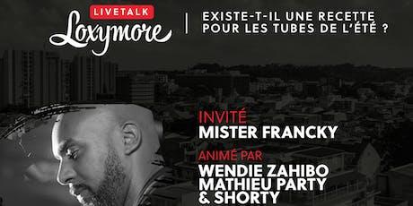 LiveTalk Loxymore - « Les médias spécialisés en cultures urbaines caribéennes »  billets