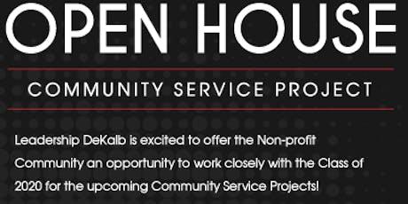 Leadership DeKalb's Community Service Project Open House tickets