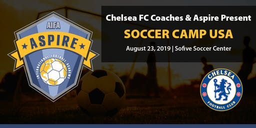 The Chelsea FC Coaches & Aspire International Soccer Camp USA 2019