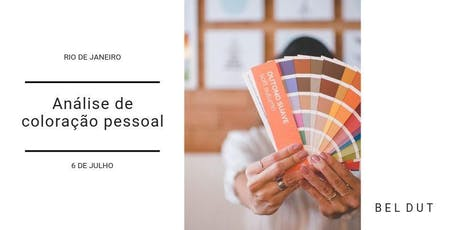 Análise de Coloração Pessoal ingressos