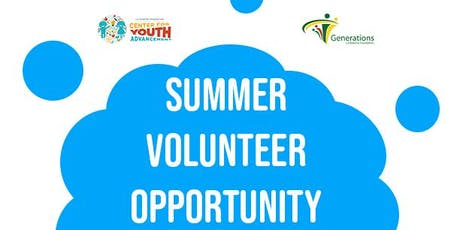 Generations Center for Youth Advancement Volunteer Recruitment tickets
