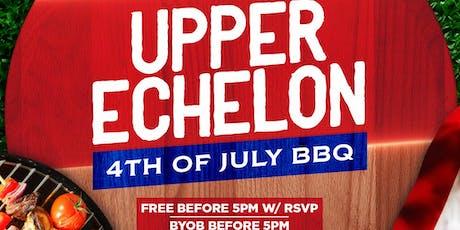 Upper Echelon 4th of July BBQ tickets