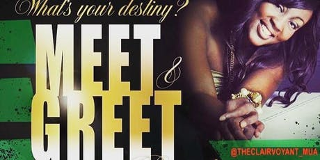 What's your destiny? Meet and greet tickets
