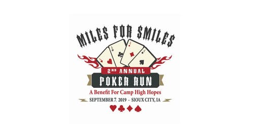 Camp High Hopes Miles for Smiles Poker Run 2019