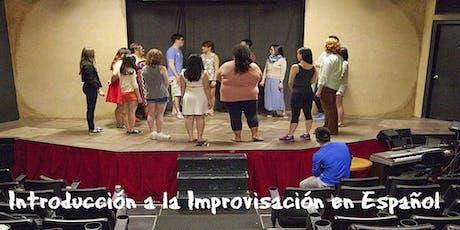 Introducción a la Improvisación en Español – Otoño   tickets