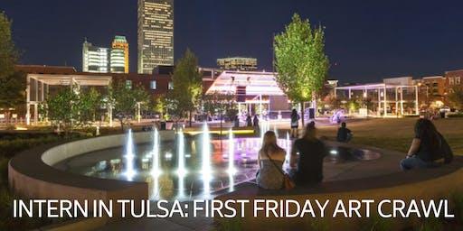 Intern in Tulsa: First Friday Art Crawl