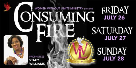 """Women Without Limits Ministry Presents """"Consuming Fire"""" tickets"""