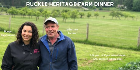 Ruckle Heritage Farm Dinner tickets