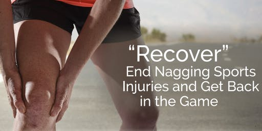 FREE Sports Injuries Workshop: Recovery and Function Training