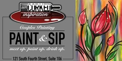 Paint & Sip | Red Tulips