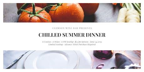 Clemson Wine Bar Summer Wine Dinner tickets