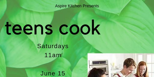 Teens Cook! Cooking Series