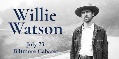 Willie Watson tickets