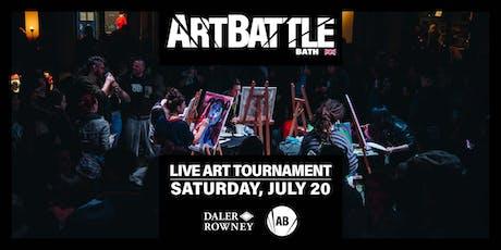 Art Battle Bath - 20 July, 2019 tickets