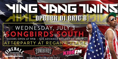 Ying Yang Twins with DJ Eric B tickets