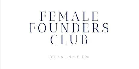Female Founders Club- Birmingham tickets