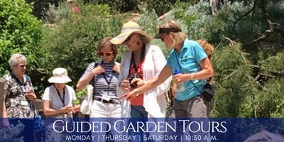 Guided Garden Tours