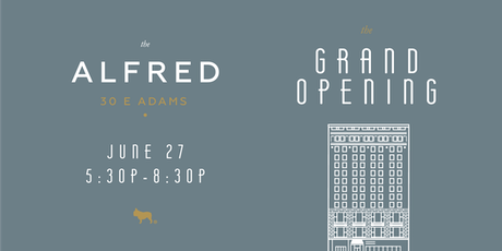The Alfred Grand Opening tickets