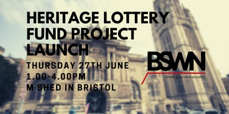 BSWN Heritage Lottery Fund Project Launch tickets