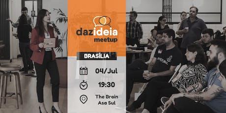 Dazideia Meetup Brasília ingressos