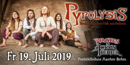 Pirates Action Theater presents Pyrolysis (Konzertabend)