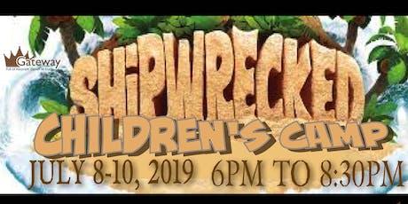 Shipwreck Children's Camp tickets