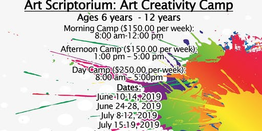 Art Scriptorium: Art and Creativity Camp