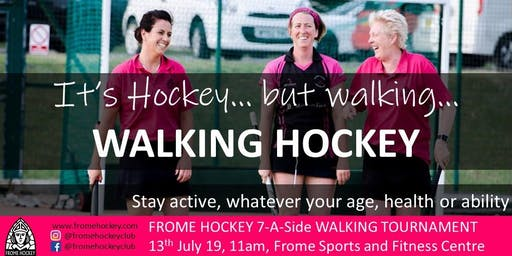 Frome Walking Hockey Tournament