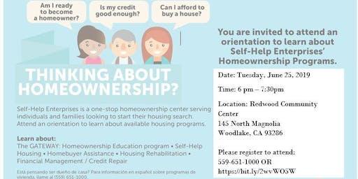 Self-Help Enterprises' Homeownership 101 - Woodlake