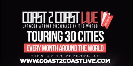Coast 2 Coast LIVE Artist Showcase Boston, MA - $50K Grand Prize tickets