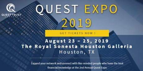QUEST EXPO | Houston, TX tickets