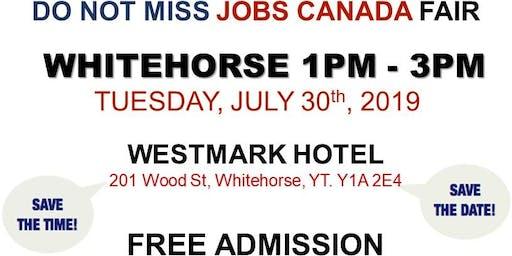 Whitehorse Job Fair – July 30th, 2019