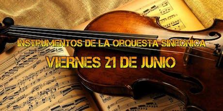 Instrumentos de la orquesta sinfonica entradas