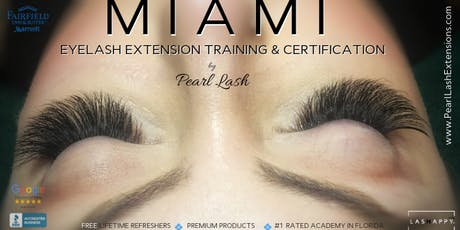 Classic Eyelash Extension Training Hosted by Pearl Lash Miami September 15, 2019 entradas