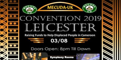 Mecuda UK Convention Leicester 2019 tickets