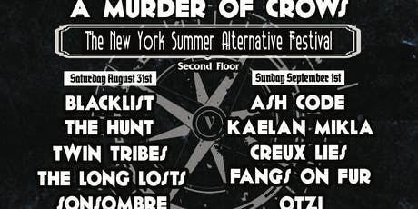 A MURDER OF CROWS FESTIVAL V 2019 tickets