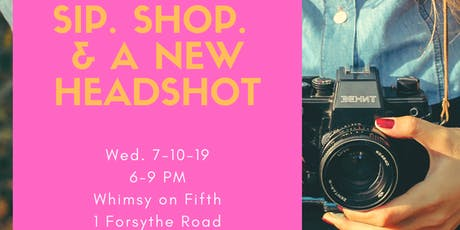 Sip, Shop, Update Your Headshot! tickets