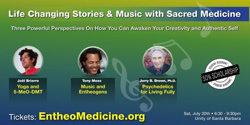 An Evening of Life Changing Stories & Music with Sacred Medicine Three Powerful Perspectives On How You Can awaken Your Creativity and Authentic Self