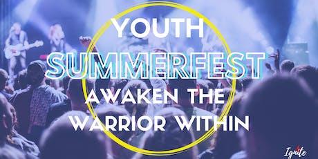 Youth Summerfest Awaken the warrior within tickets