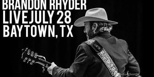 Brandon Rhyder Live at O'Neals in Baytown, TX