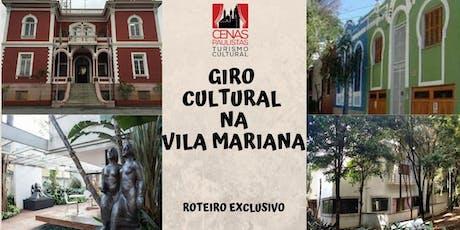 GIRO CULTURAL NA VILA MARIANA ingressos