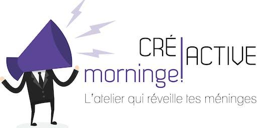 CreActive Morninge, l'atelier qui réveille tes méninges !