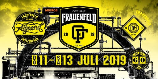 Frauenfeld OpenAir 2019 Early Bird Ticket