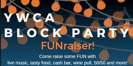 YWCA Block Party tickets