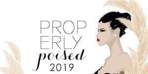 2019 PROPerly Poised Fashion Show