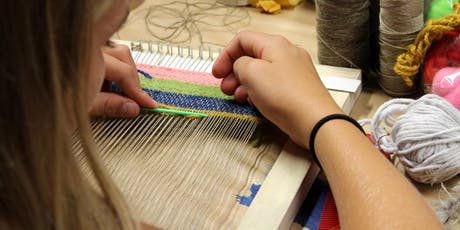 Loom Weaving Workshop: Leno Lace tickets