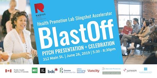 BlastOff: RADIUS Health Promotion Lab's Slingshot Accelerator Celebration